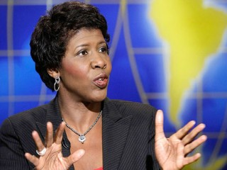 Gwen Ifill , also known as: Gwendolyn Ifill , born September 29, 1955