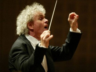 Simon Rattle picture, image, poster