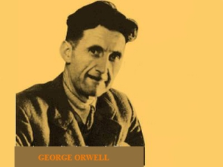 George Orwell picture, image, poster