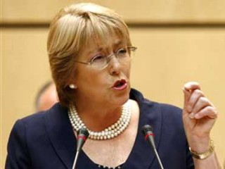Michelle Bachelet picture, image, poster