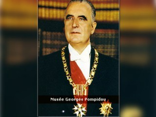 Georges Pompidou picture, image, poster