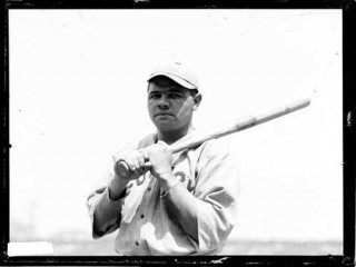 a biography of george herman ruth an american baseball player George herman ruth is an american legend  ruth was the most portrayed american baseball player from  gallery to the biography of a.