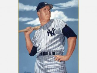 a biography of mickey mantle an american baseball player