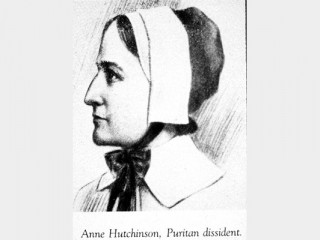 anne hutchinson biography The greatest outrage to winthrop by far, however, came when anne hutchinson,  a mere woman, gained control of his boston church in 1636 and endeavoured.