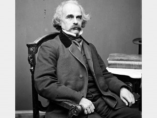 a biography of nathaniel hawthorne and his family in the town of salem Nathaniel hawthorne was descended from the hathornes and the mannings his father, nathaniel hathorne, sr, was born in 1775 in salem among his ancestors were major.