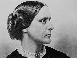 """susan b anthony the guilt rests """"the men and women of the north are slaveholders, those of the south slaveowners the guilt rests on the north equally with the south"""" –susan b anthony."""