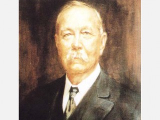 a biography of sir arthur conan doyle a writer Sherlock holmes (/ ˈ ʃ ɜːr l ɒ k ˈ h oʊ m z /) is a fictional private detective created by british author sir arthur conan doylereferring to himself as a consulting detective in the.