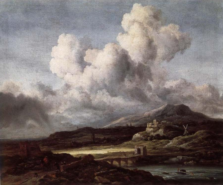 Jacob van Ruisdael biography, birth date, birth place and