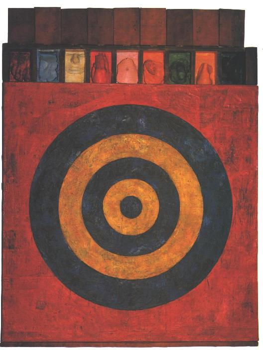jasper johns biography essay Camp iconography and gender performance  in a footnote to her essay for the catalogue of the 1997  in her controversial biography of jasper johns writes.