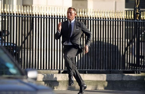 James Bond has a new mission at the Buckingham Palace for the 2012 Olympics