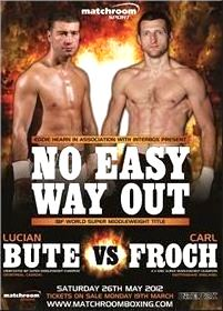 Lucian Bute comes to England to defend his IBF title in a fight with Carl Froch