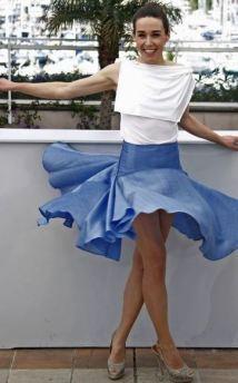 Albanian actress Arta Dobroschi\'s flawless skirt plays the worst wardrobe malfunction biography