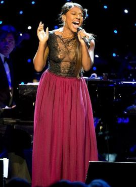 Alexandra Burke takes the stage with Dionne Warwick at the Royal Albert Hall biography