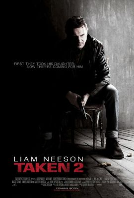 Liam Neeson is chased by mobsters in the Taken 2 trailer