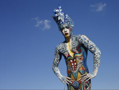 See the amazing pics at Austria\'s 15th Worldwide Bodypainting Festival biography