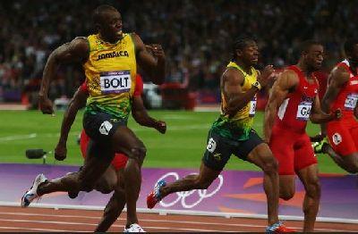 Olympic 100m champion Usain Bolt closer to legendary status