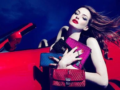 Anne Hathaway is spokes model for TOD's company on ...