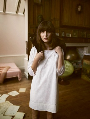 Aubin & Wills\' Ads for Spring collection feature model Irina Lazareanu and Alex James