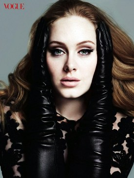 Grammy awarded singer Adele lands on Vogue\'s cover, March issue biography