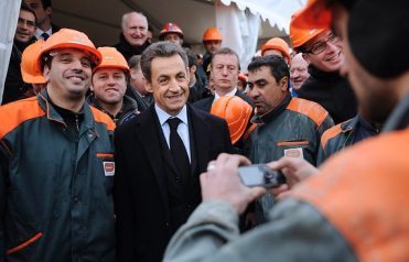 French president Nicolas Sarkozy to launch his re-election campaign