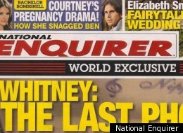 The National Enquirer defends for publishing Whitney Houston\'s open casket photo