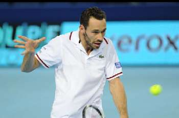 Argetine Juan Martin Del Potro wins over Michael Llodra at Open 13, Marseille