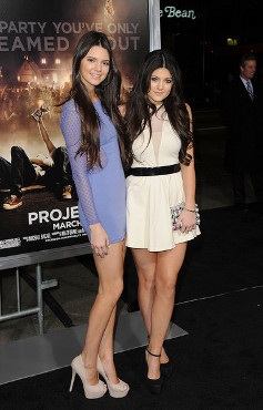 Kylie  Kendall Jenner  on Kendall And Kylie Jenner Wows On The Red Carpet At   Project X   La