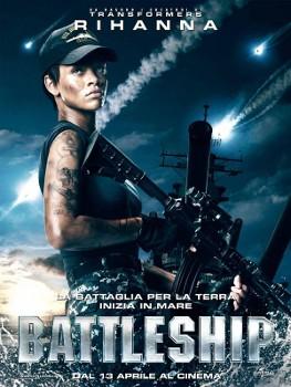 Rihanna shown as US Navy officer in new \'Battleship\' poster