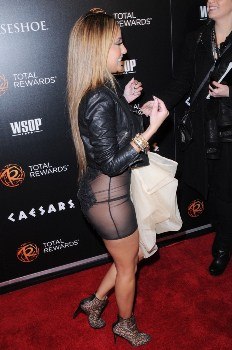Adrienne Bailon upset for her wardrobe malfunction at Los Angeles event biography
