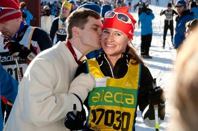 Pippa Middleton proves sportive at biggest cross-country ski race in Sweden