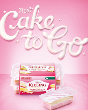 Cake-to-go: new ad campaign from Mr. Kipling gives 500 cakes a day