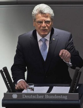 Joachim Gauck sworn in as Germany\'s new President after election March 18