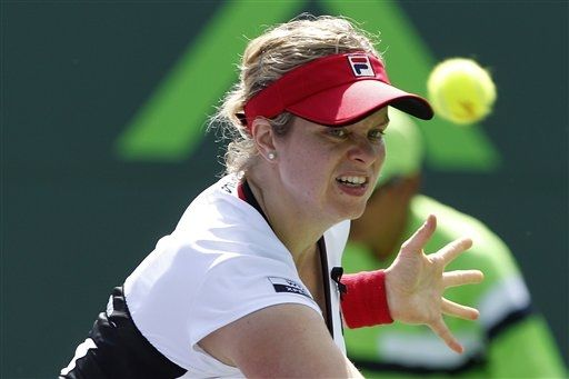 Serena Williams and Kim Clijsters triumphed in their WTA Tour comeback, Miami