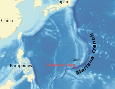 Director James Cameron reached Earth\'s deepest bottom, the Marianas Trench